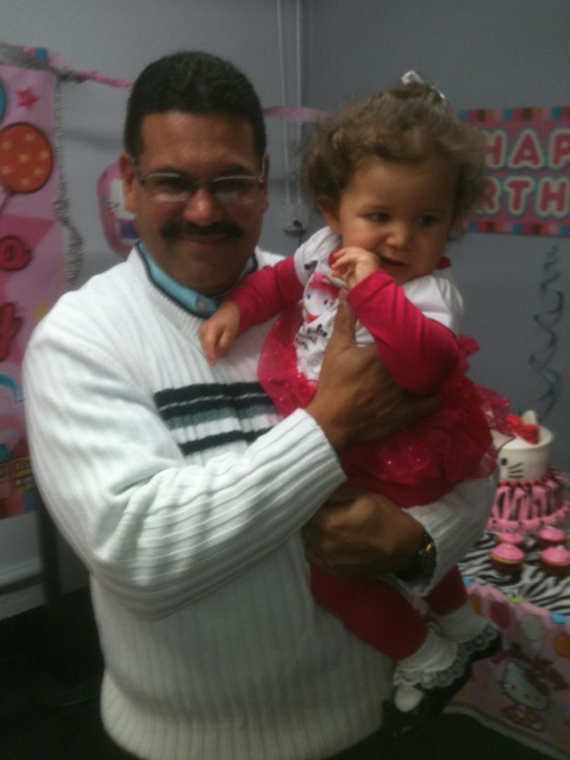 My Granddaughter !st birthday.